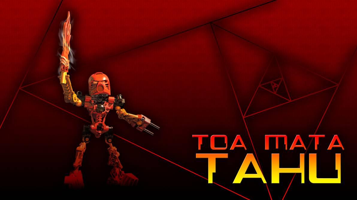 Toa Mata Tahu Wallpaper by OddLetsPlayer 1192x670