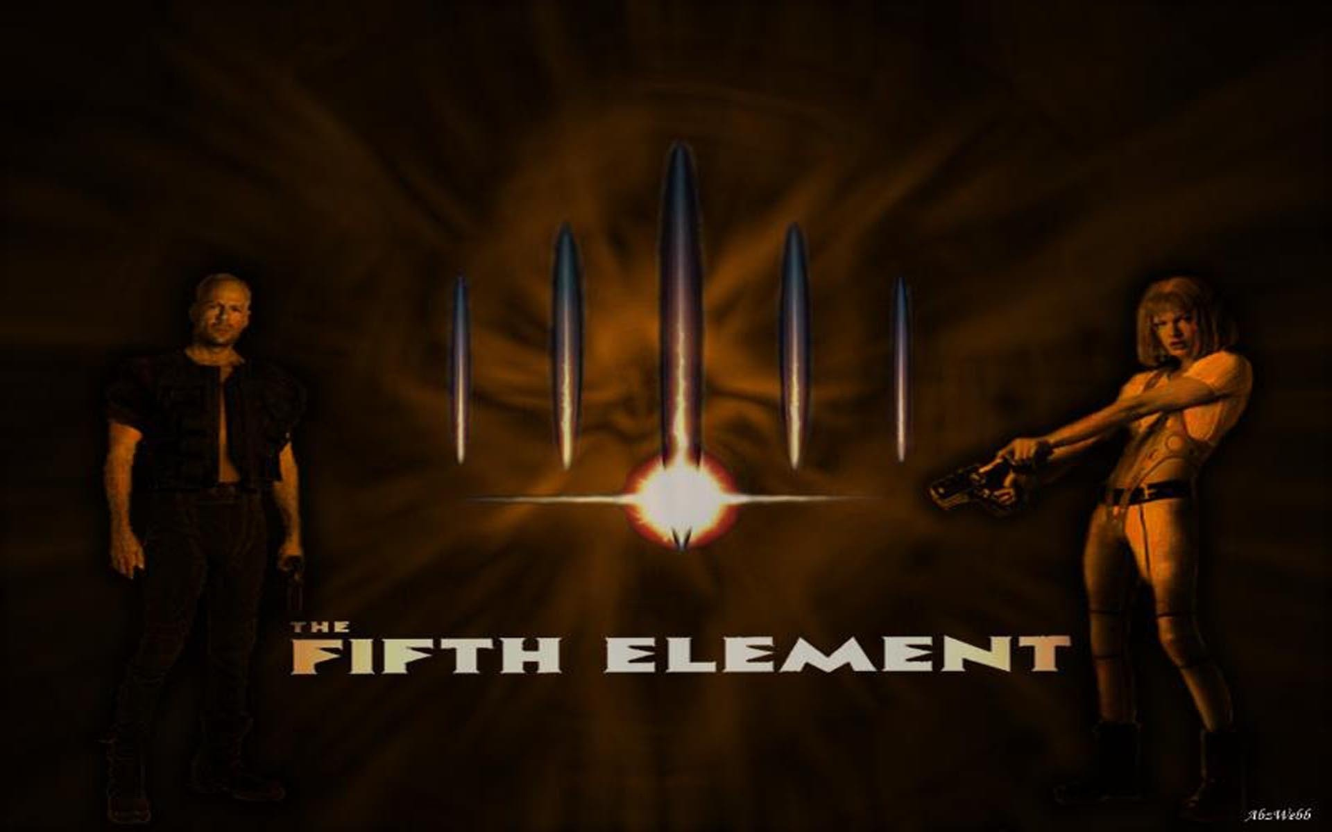 The Fifth Element   The Fifth Element Wallpaper 7390521 1920x1200