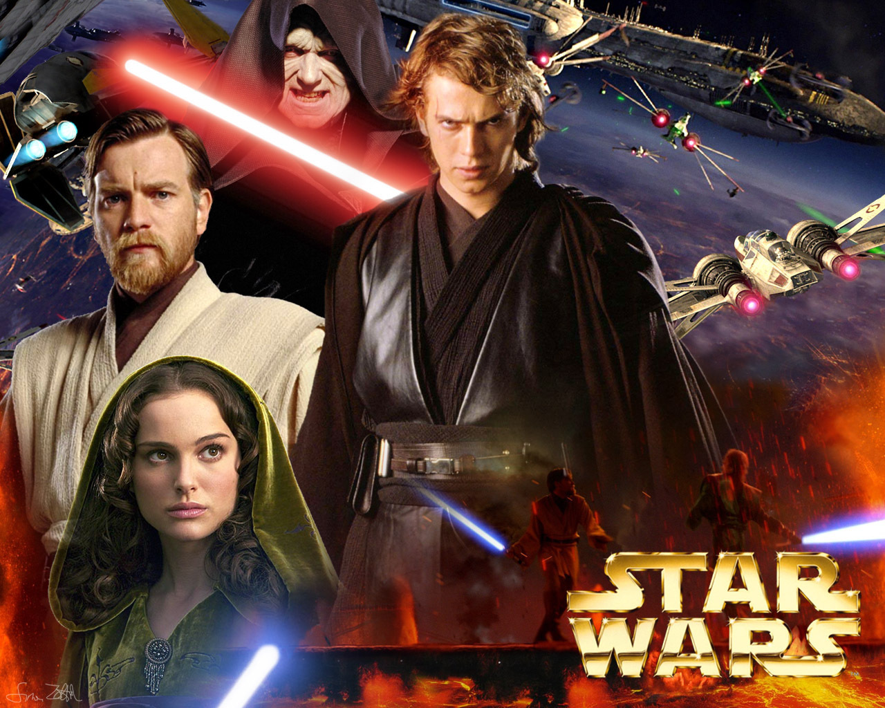 Star Wars Characters Wallpaper