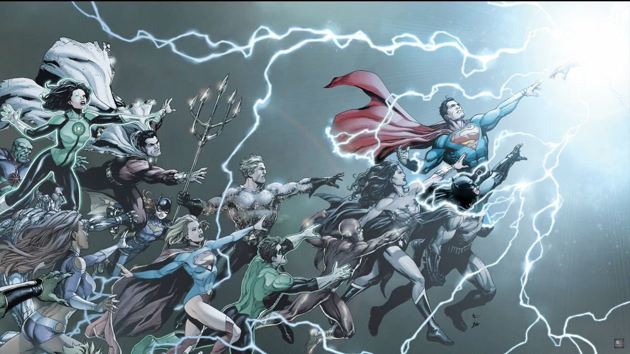 DC Comics Rebirth Special Cover wallpaper 2560x1440 917952 1245x700