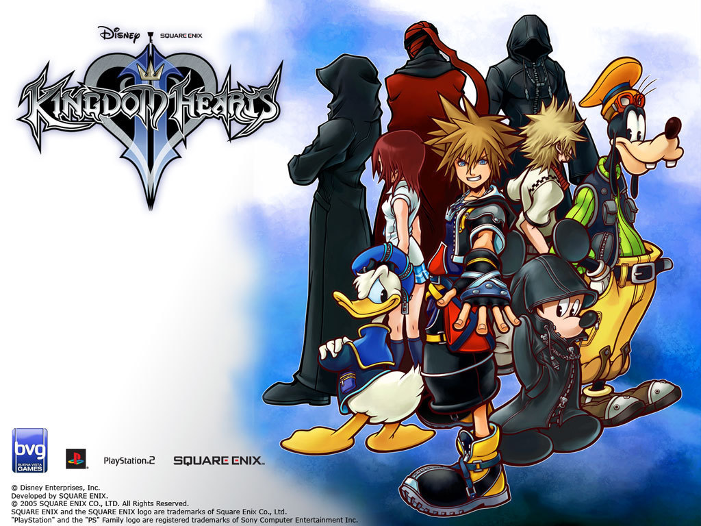 Official Kingdom Hearts Wallpaper   Kingdom Hearts 1024x768