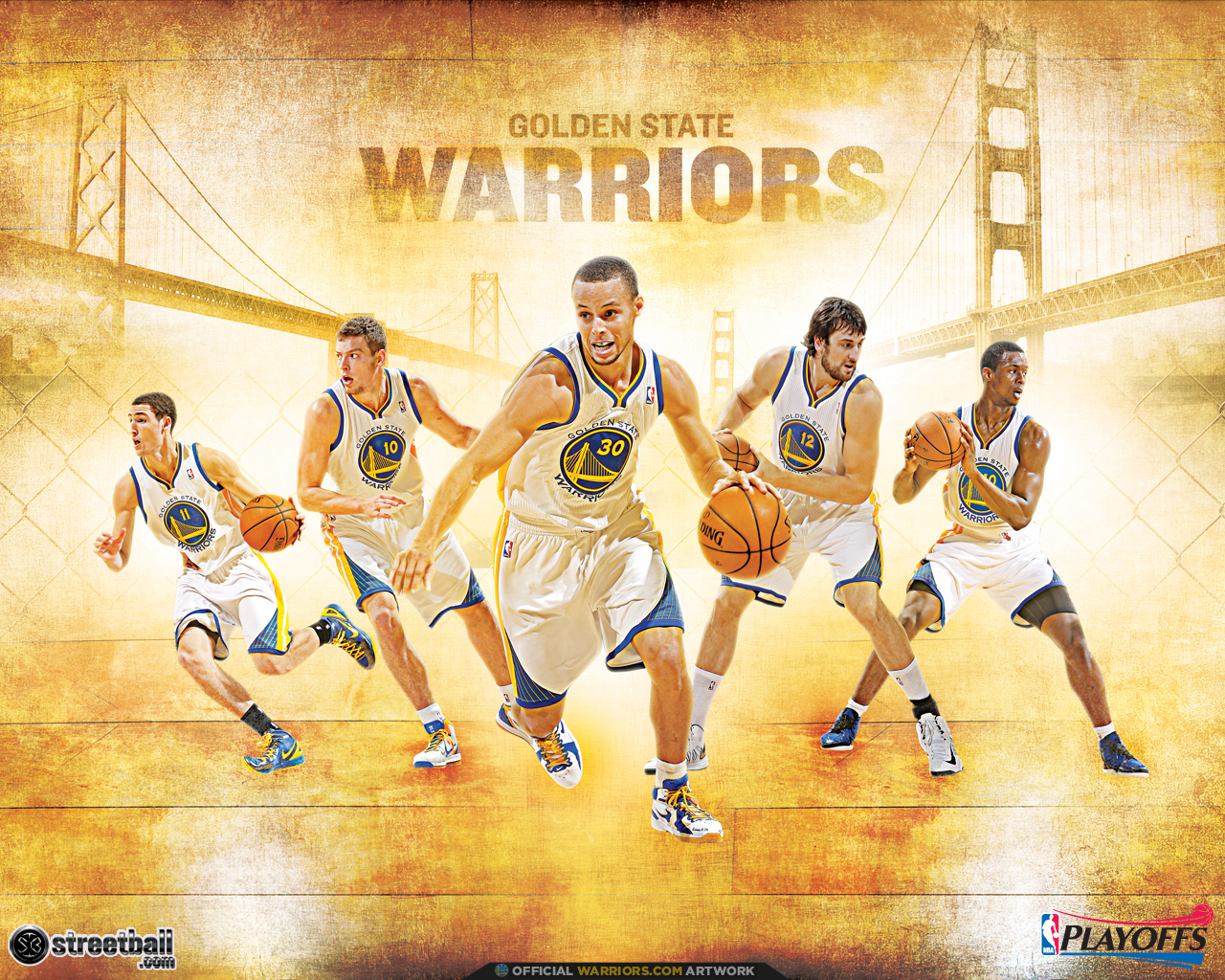 NBA Playoffs Golden State Warriors Wallpapers Hd cute Wallpapers 1280x1024