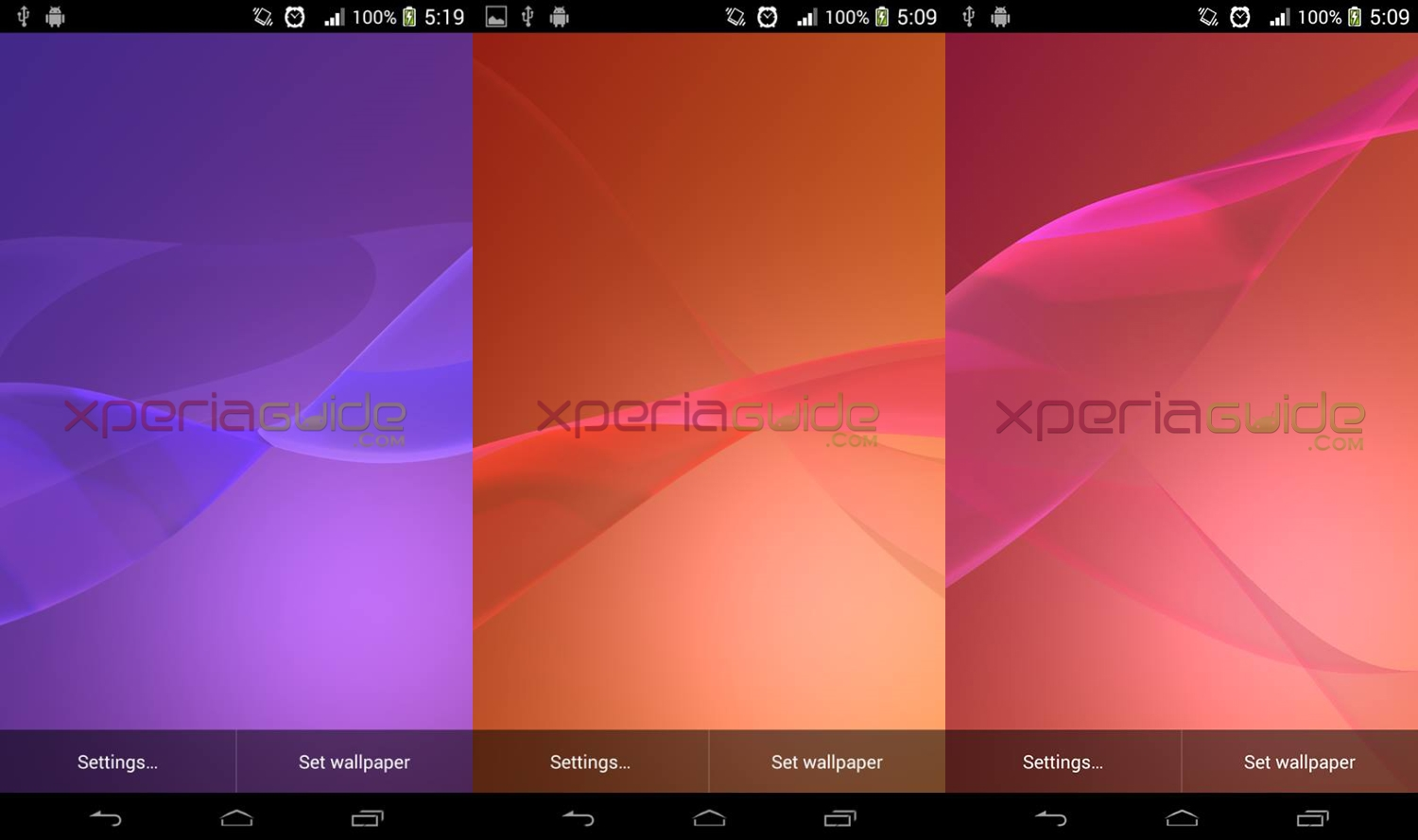 47 Sony Xperia Live Wallpapers On Wallpapersafari