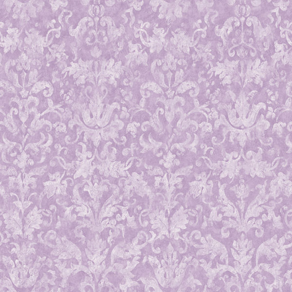Distressed Damask Purple Prepasted Wallpaper   Wall Sticker Outlet 600x600