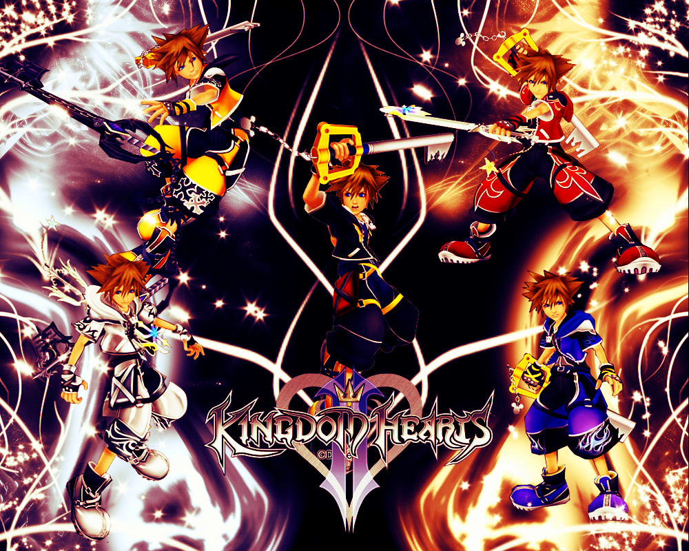 Kingdom Hearts 2 Wallpaper 1 by CrossDominatriX5 1000x800