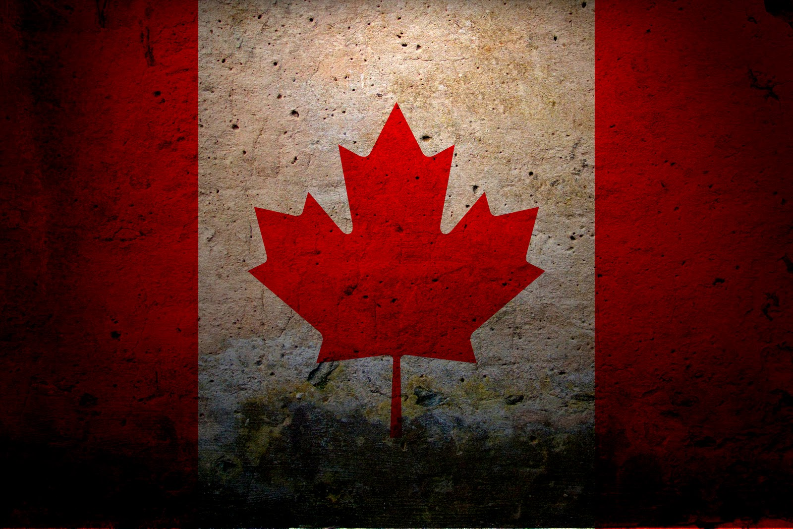 AWESOME CANADA FLAG DESIGNS HD WALLPAPERS For Windows 7   XP 1600x1067