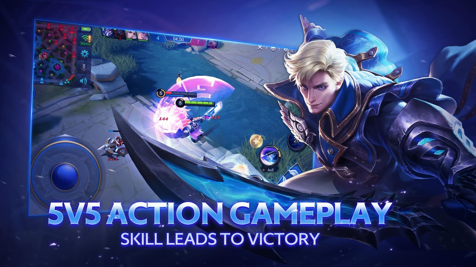 Mobile Legends Bang Bang 1409 APK Download   Android Action Games 1600x900