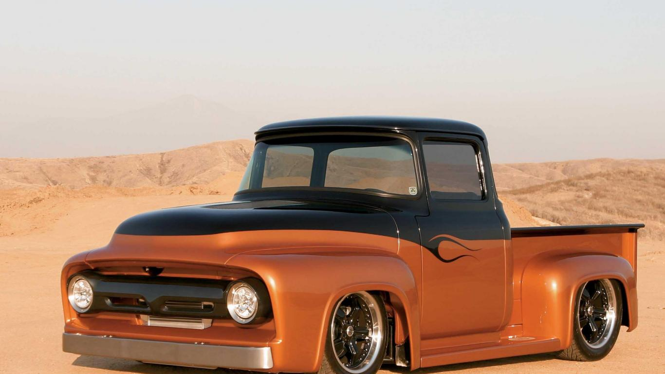 CLASSIC FORD TRUCK WALLPAPER   81603   HD Wallpapers 1366x768