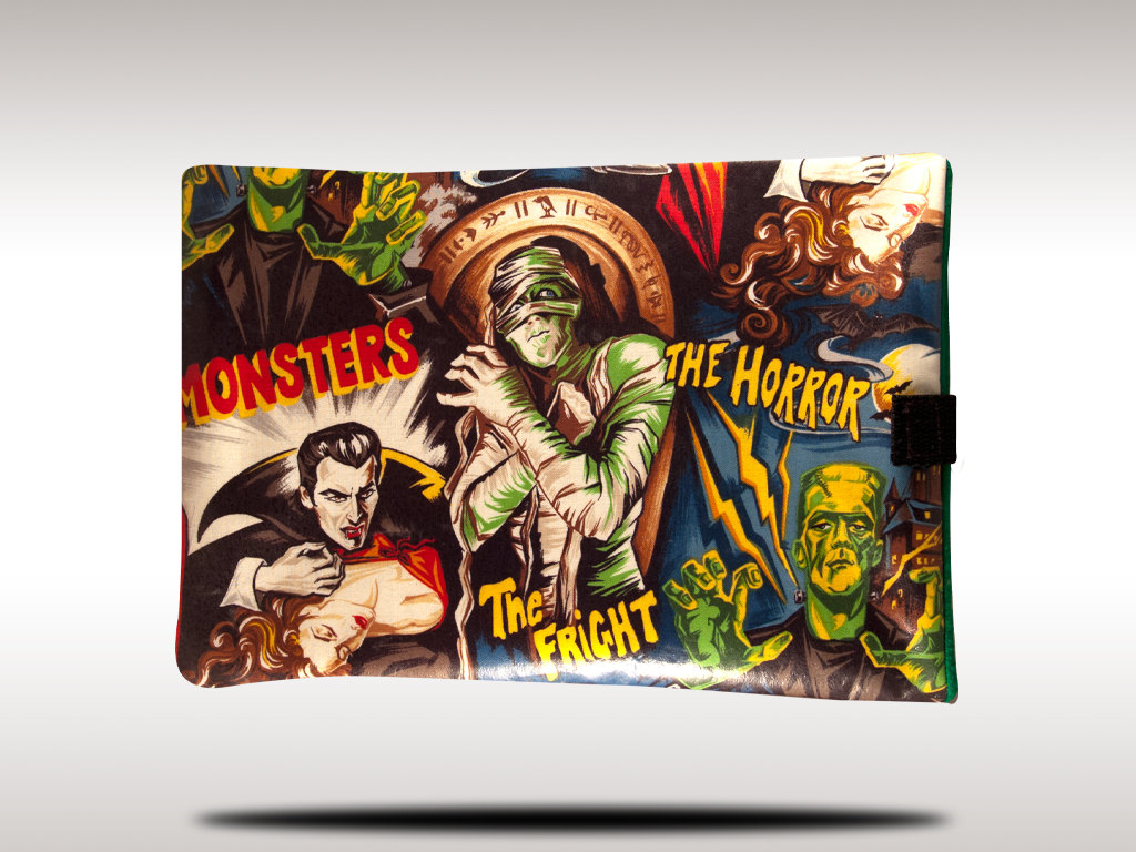 Classic Horror Movie Monsters 10 Universal Tablet by RedPanic 1024x768