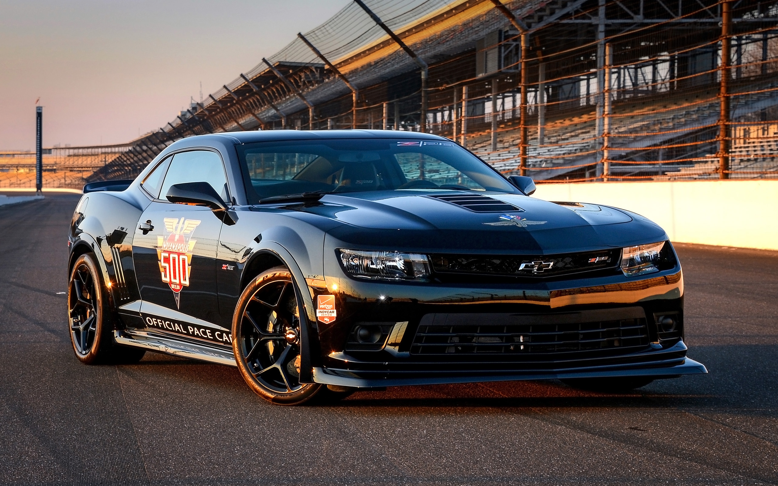 2014 Chevrolet Camaro Z28 Indy 500 Pace Car Wallpaper HD Car 2560x1600