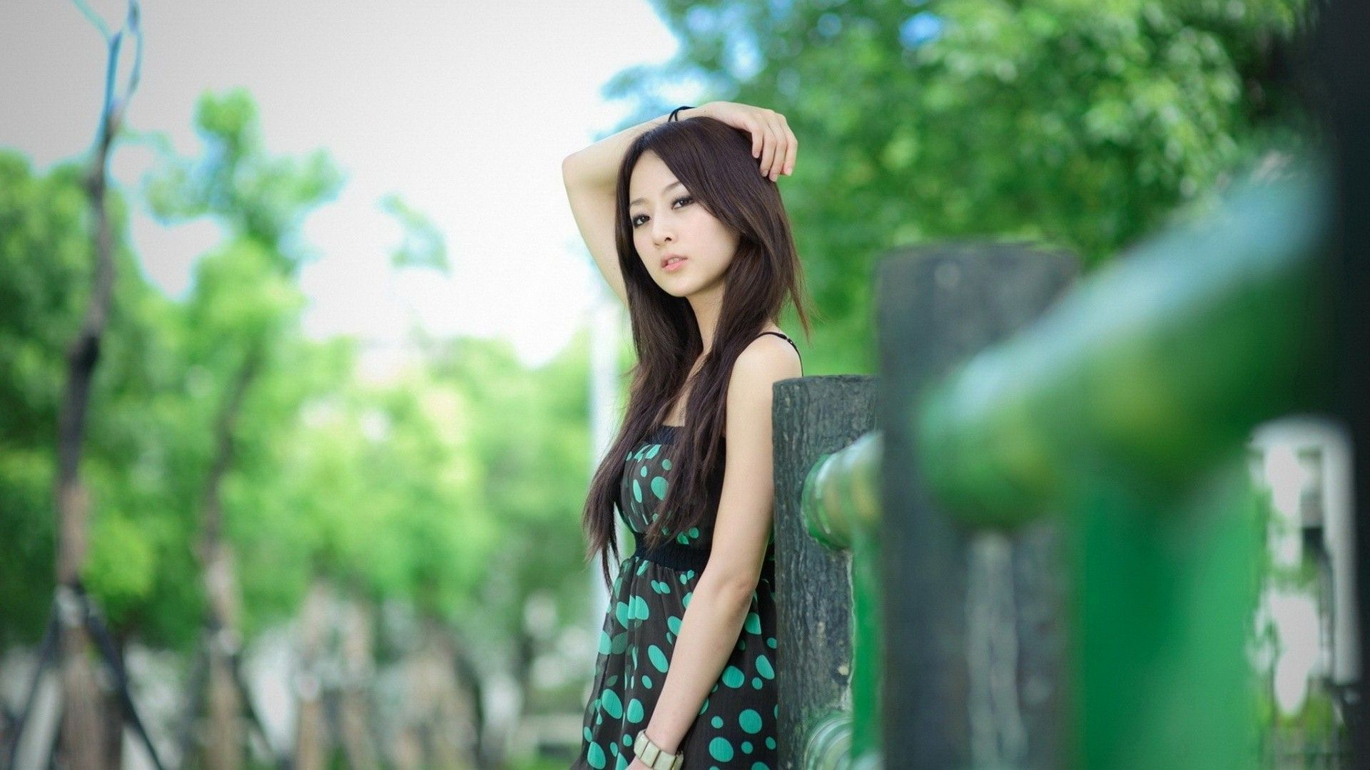 Mikako Zhang Kaijie HD Wallpaper Background Image 1920x1080