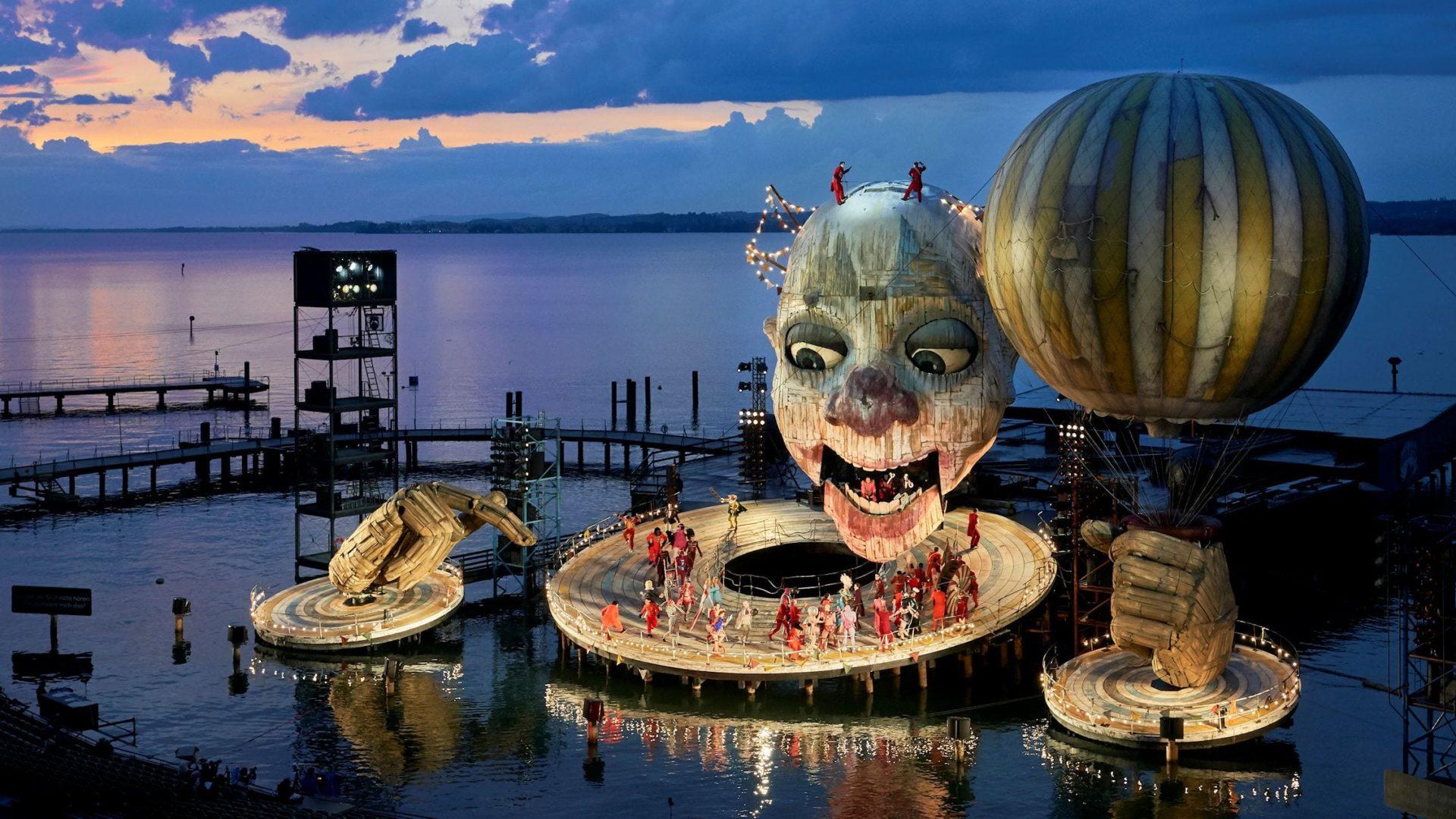 Bregenz Festival 2020   Opera Rigoletto by G Verdi on the Lake 1920x1080