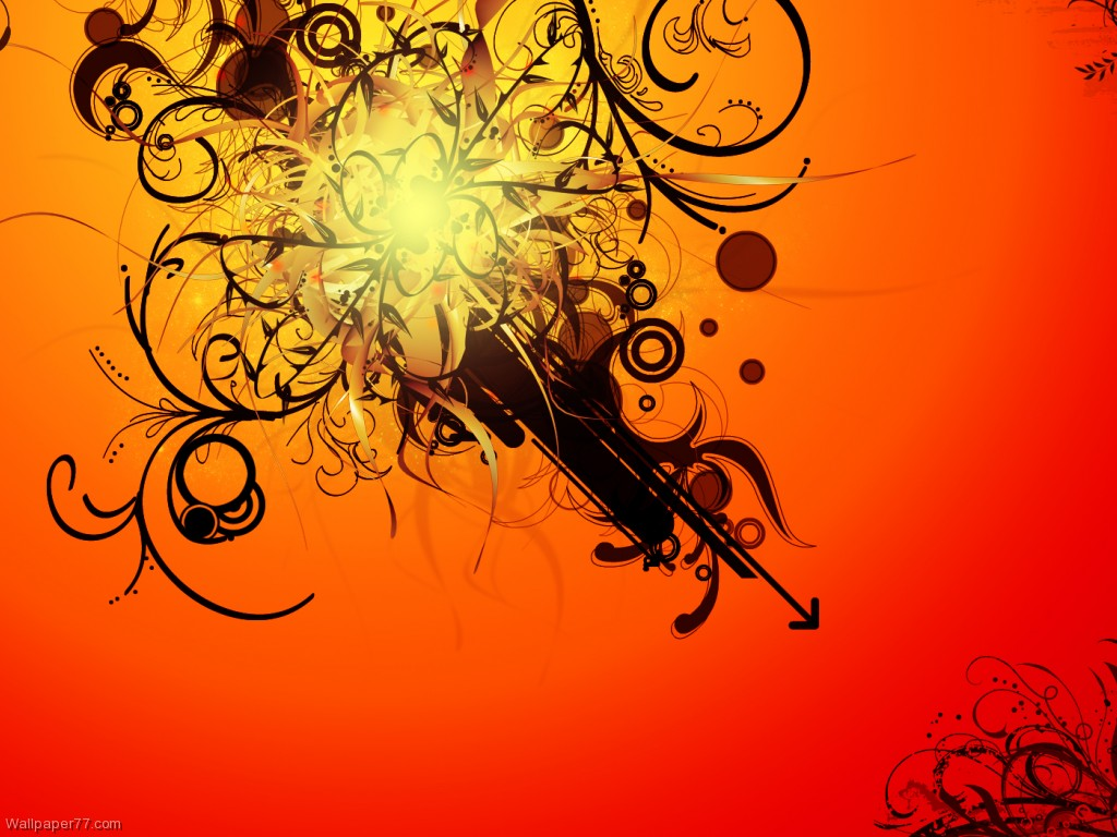abstract bright orange picture here you can see abstract bright orange 1024x768