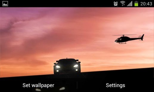 Racing Car Live Wallpaper 517x310