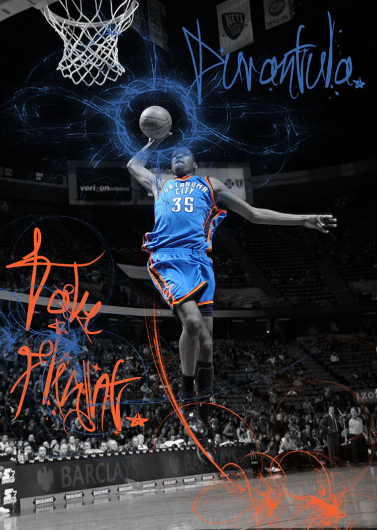 Kevin Durant Dunking Wallpaper Best Cool Wallpaper HD 750x1054