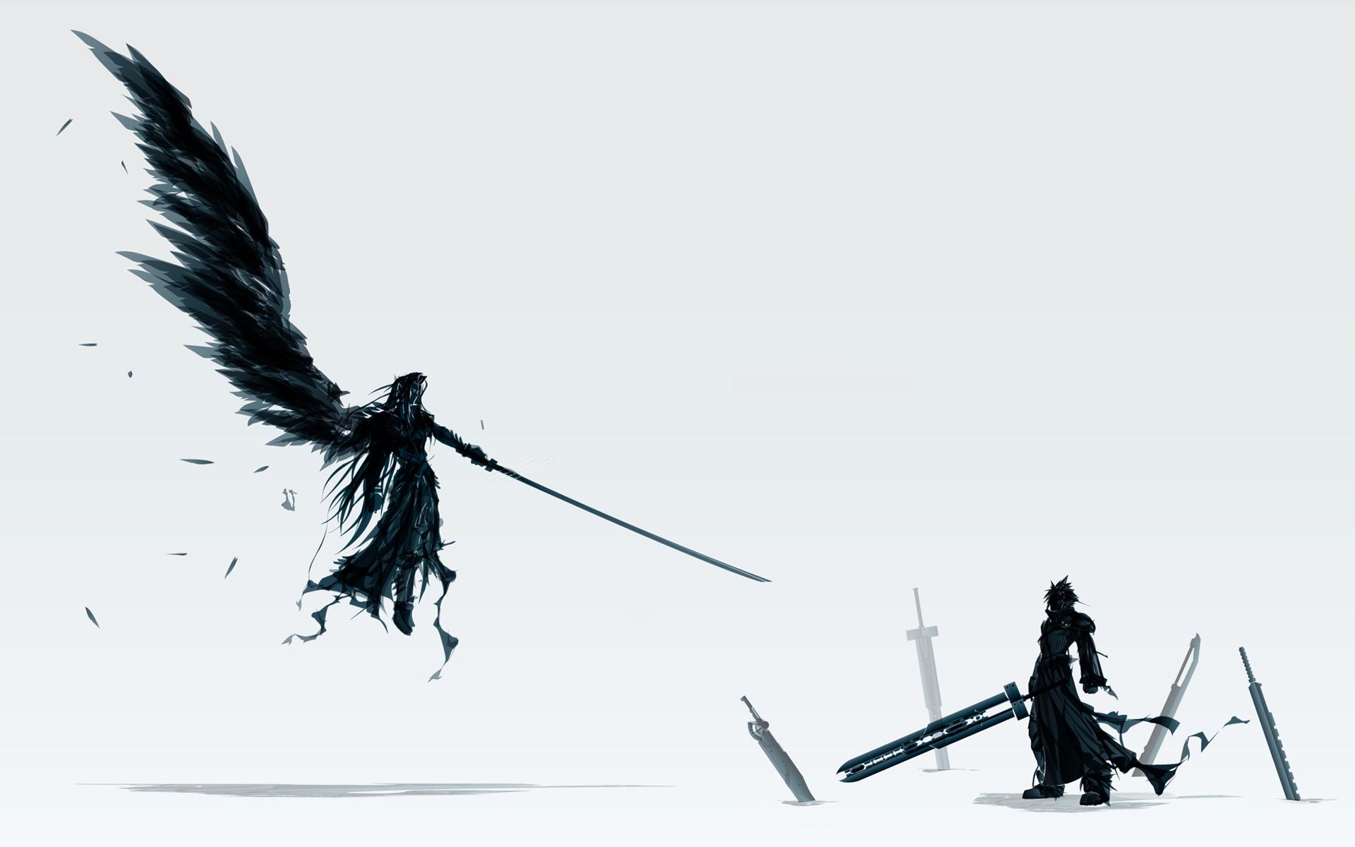 SephirothCloud   Final Fantasy VII Wallpaper 29026371 1920x1200