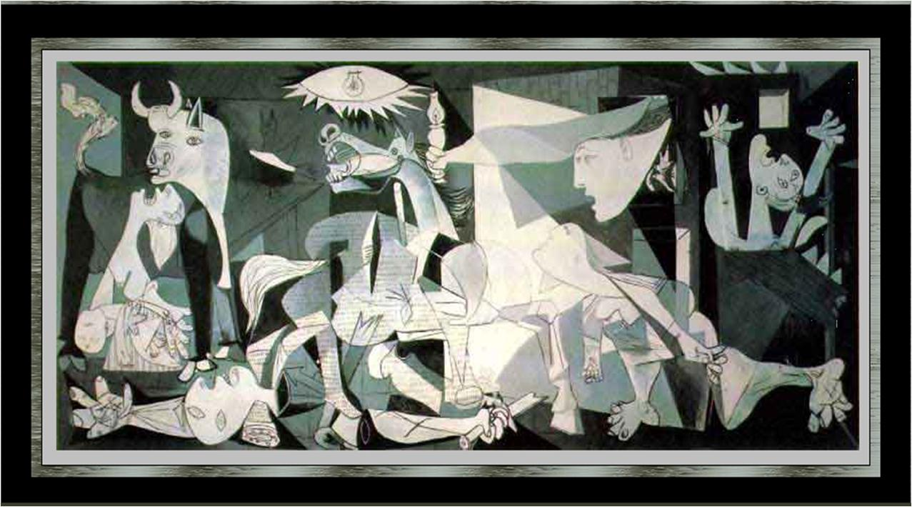 Images For Picasso Guernica Wallpaper 1277x710