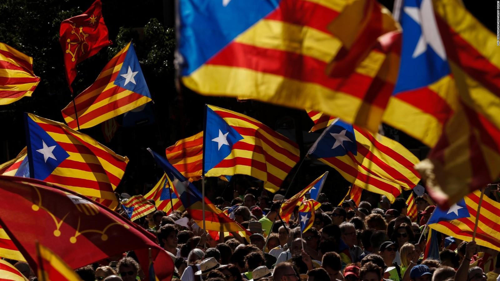 Catalan independence leaders given lengthy prison sentences by 1600x900