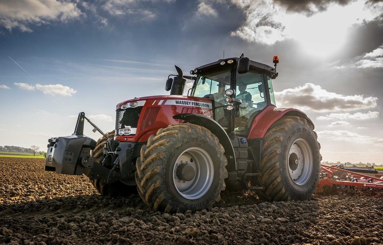 Wallpaper wallpaper tractor farming 7726 Massey Ferguson 1332x850