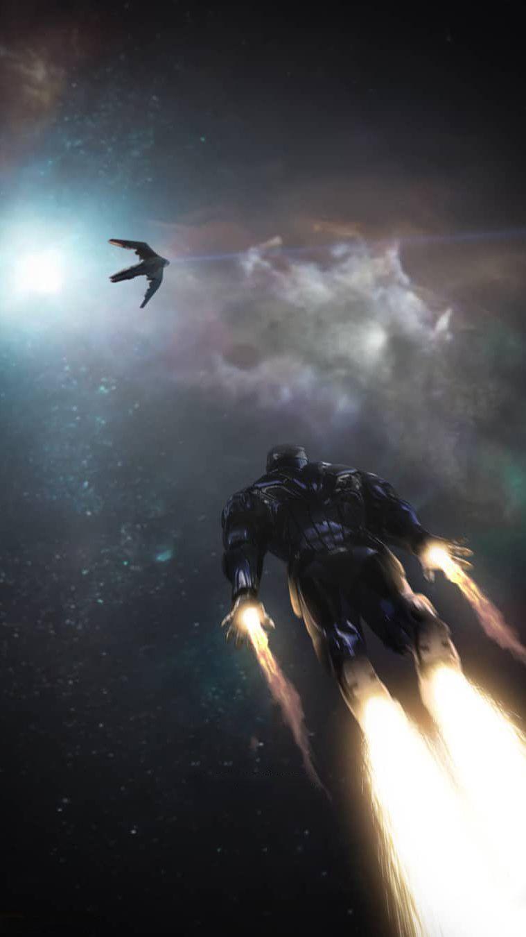 Tony Stark Rescue Avengers Endgame iPhone Wallpaper MUNDO MARVEL 759x1350