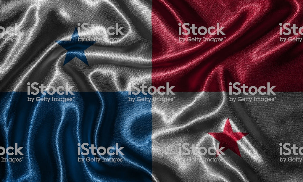 Wallpaper By Panama Flag And Waving Flag By Fabric Stock Photo 1024x615