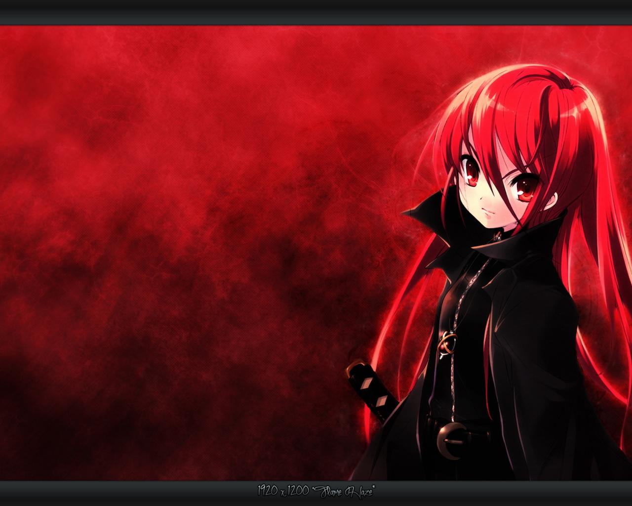 41 Red Anime Wallpaper On Wallpapersafari