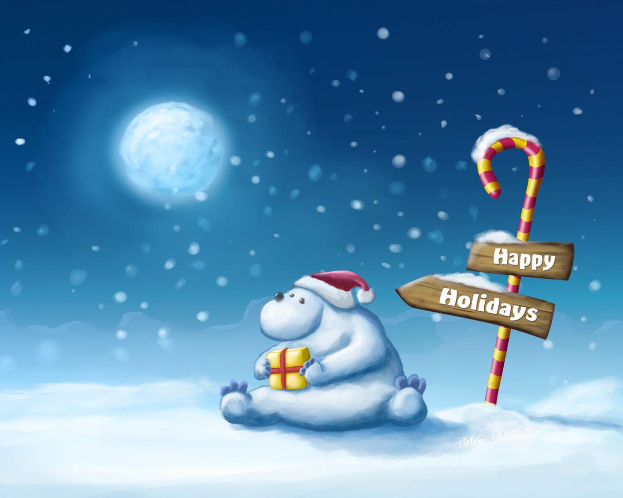 12801024 Christmas Illustration   Christmas Graphic Design Wallpaper 1280x1024
