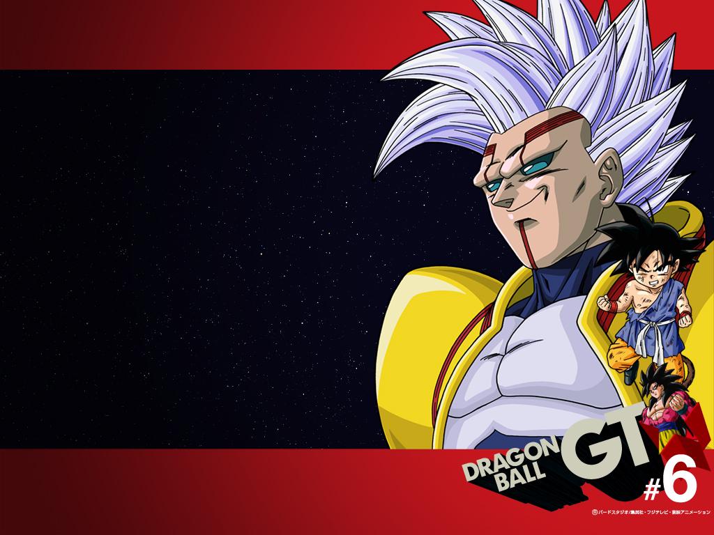 Baby Vegeta y Son Goku Anime Manga Dragn Ball GT Wallpaper 1024x768