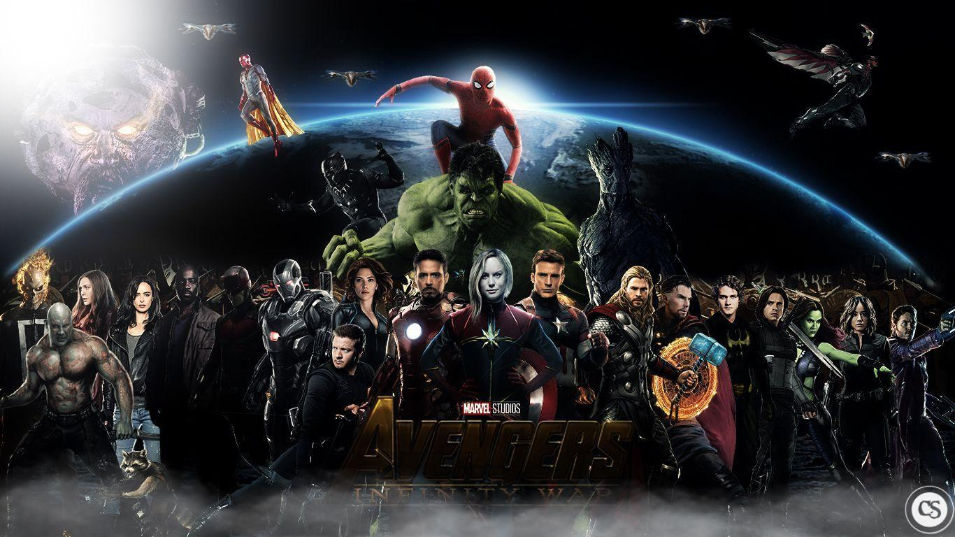 Avengers Infinity War Wallpapers 1366x768
