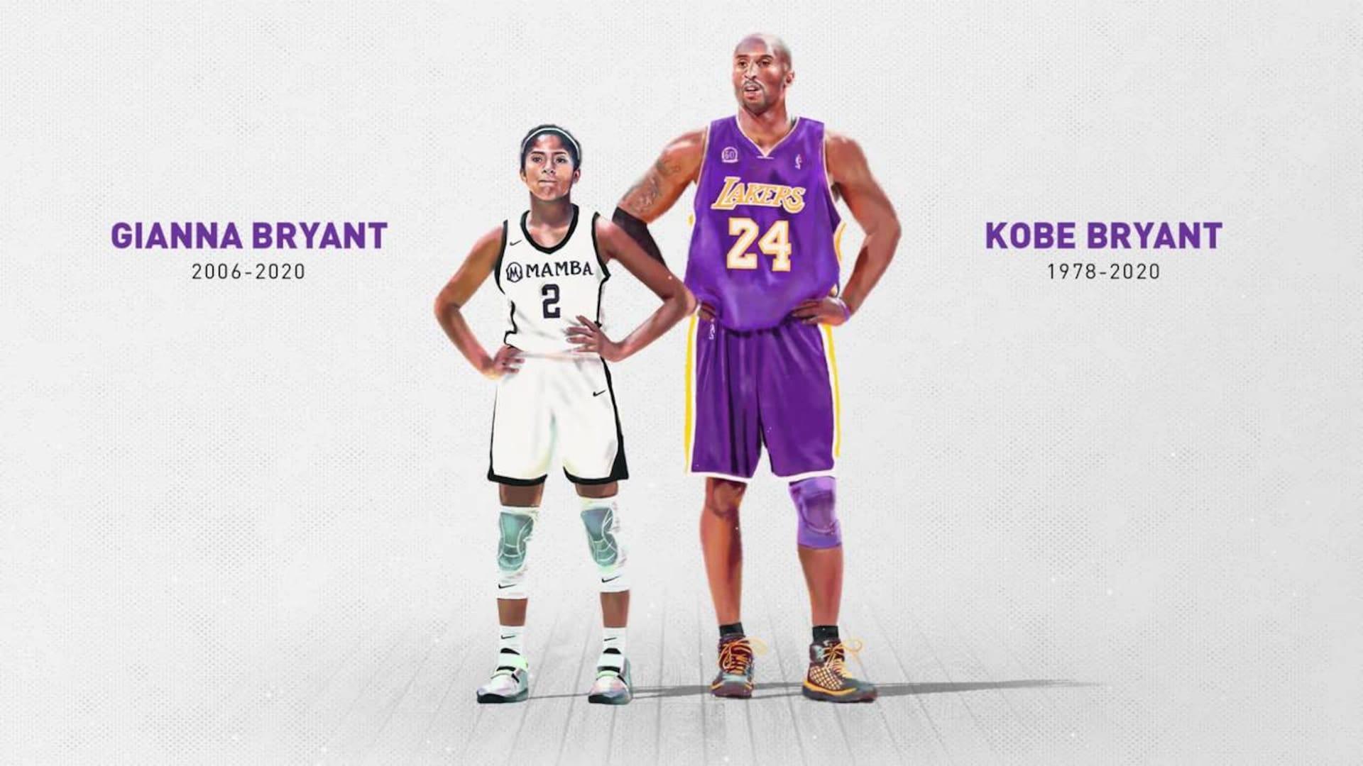 Kobe and Gianna Bryant Wallpapers   Top Kobe and Gianna 1920x1080