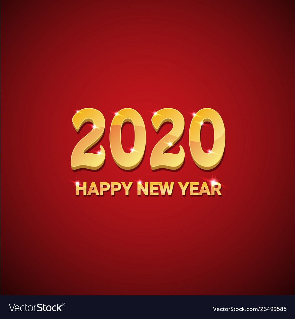 2020 happy chinese new year rat creative Vector Image 1000x1080