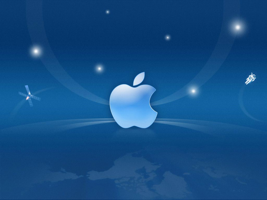 Apple iPad Space innovations hd Wallpaper and make this wallpaper for 1024x768
