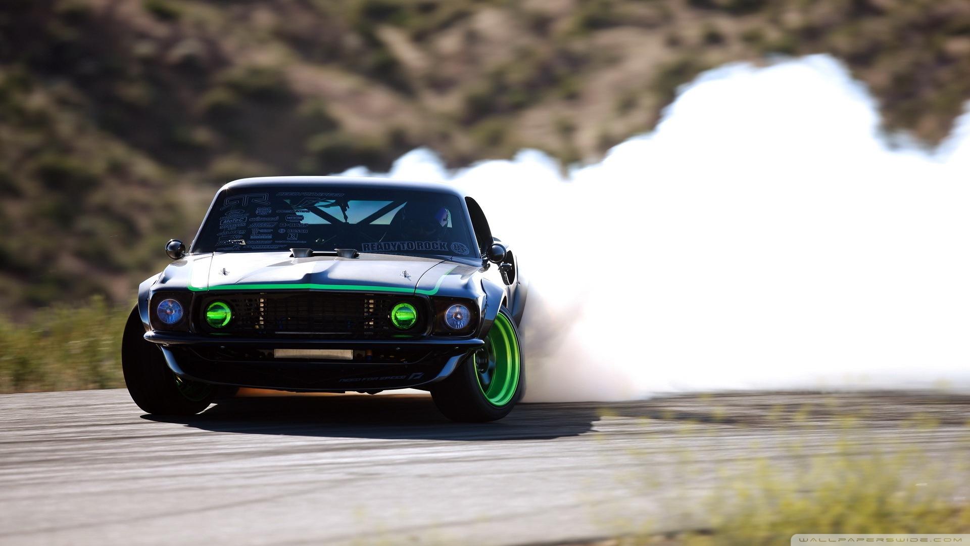Download Ford Mustang Drifting Wallpaper 1920x1080 1920x1080