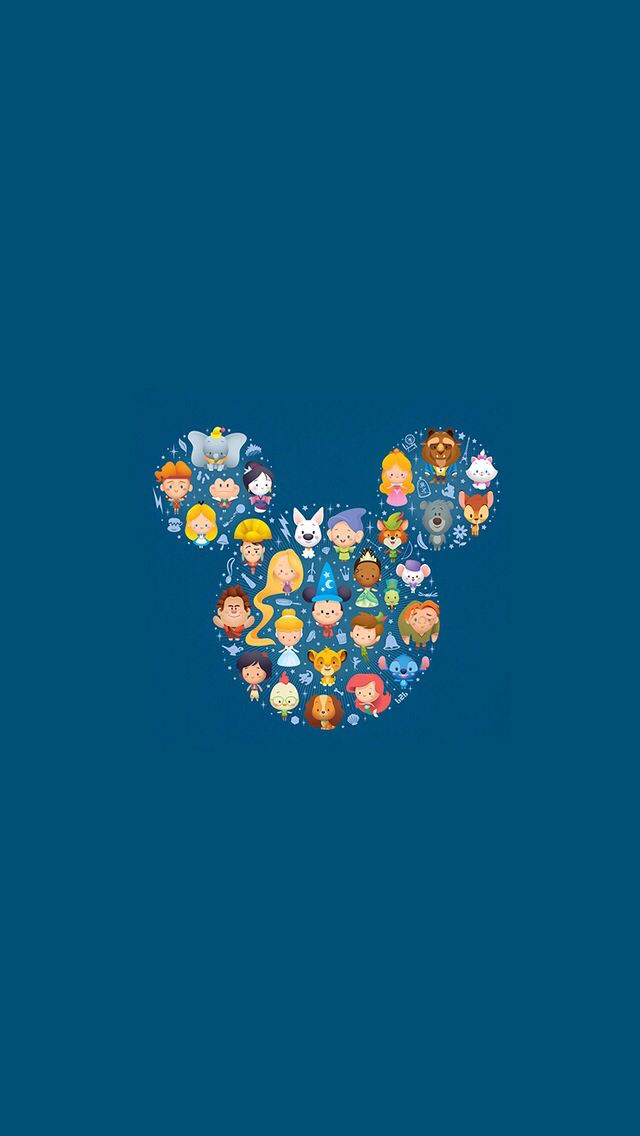 Disney wallpaper iPhone Wallpapers Pinterest Disney Wallpaper 640x1136