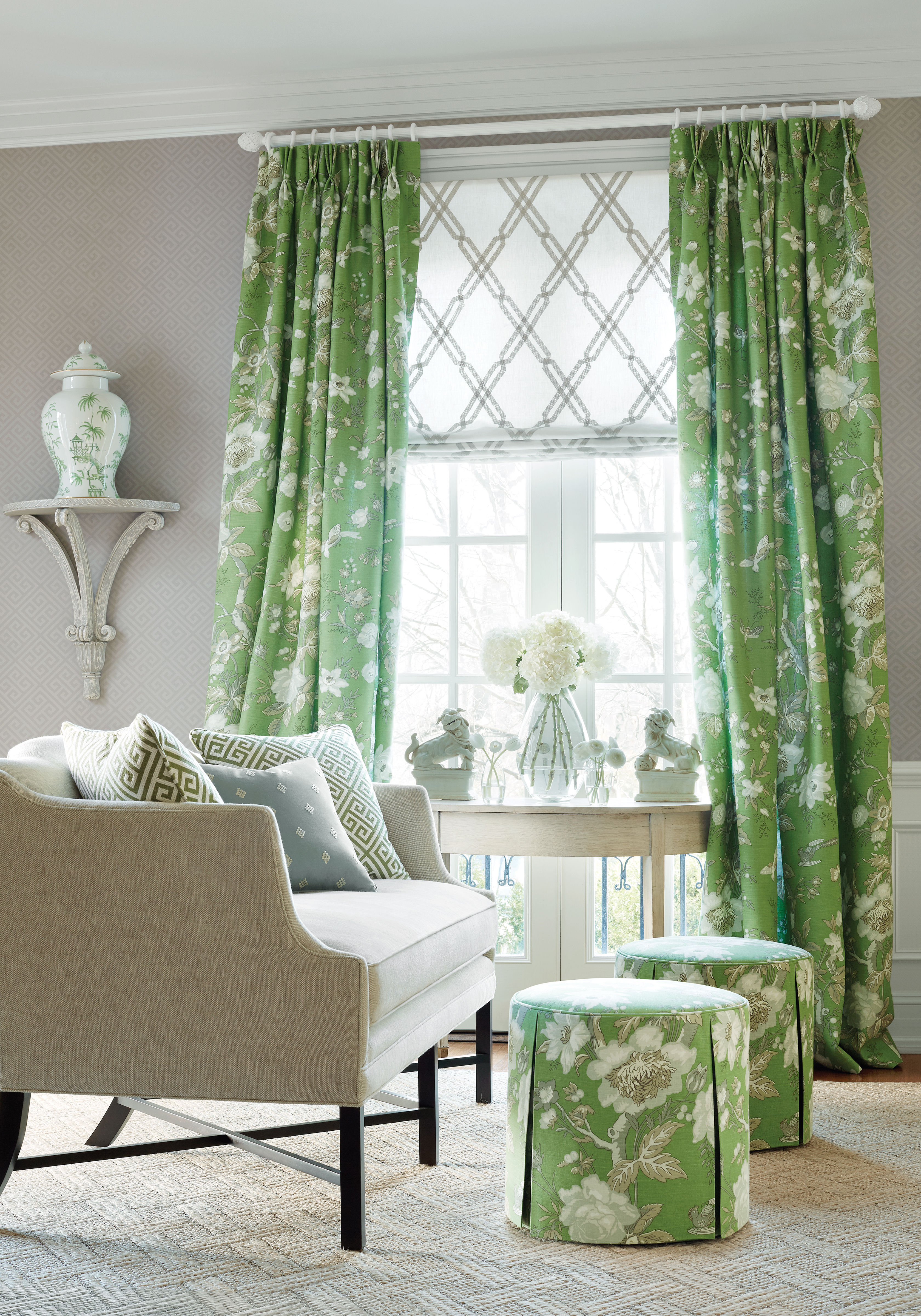 New Wallpaper Introductions Thibaut Enchantment Collection The 3360x4800