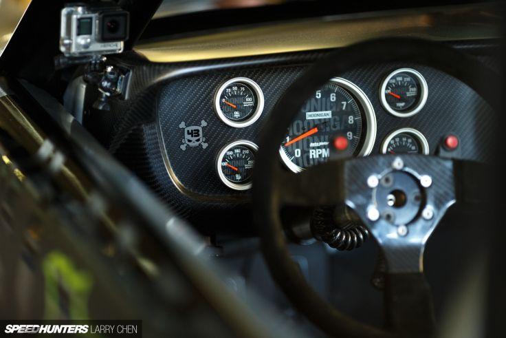 1965 Ford Mustang Hoonigan ASD Gymkhana Seven drift hot rod rods 736x491