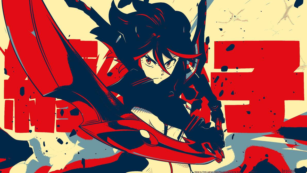 Kill la Kill wallpaper edit by firezombiedude 1191x670