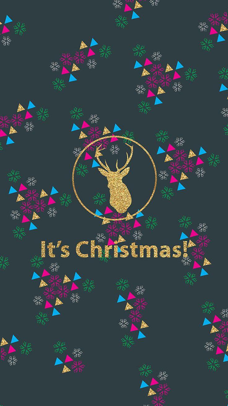 Merry Christmas Wallpaper on iPhone TIR Blog 736x1308