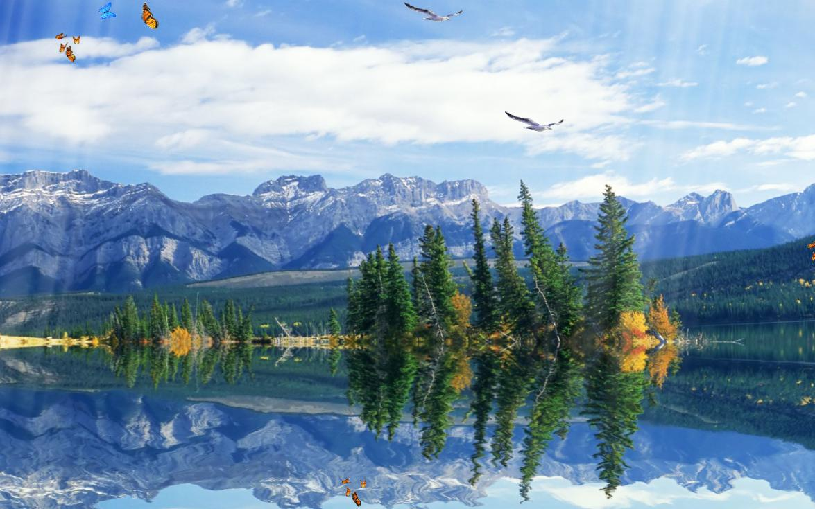 Mountain screensavers and wallpapers wallpapersafari - Mountain screensavers free ...