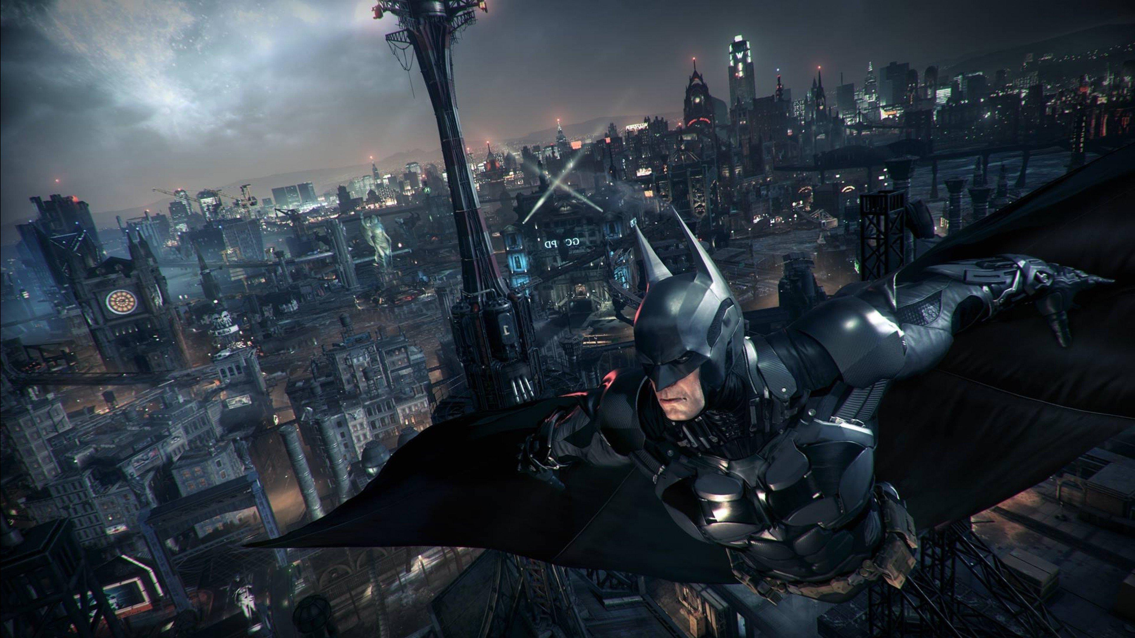 Batman Arkham Knight Rocksteady Studios Batman Gotham City 3840x2160