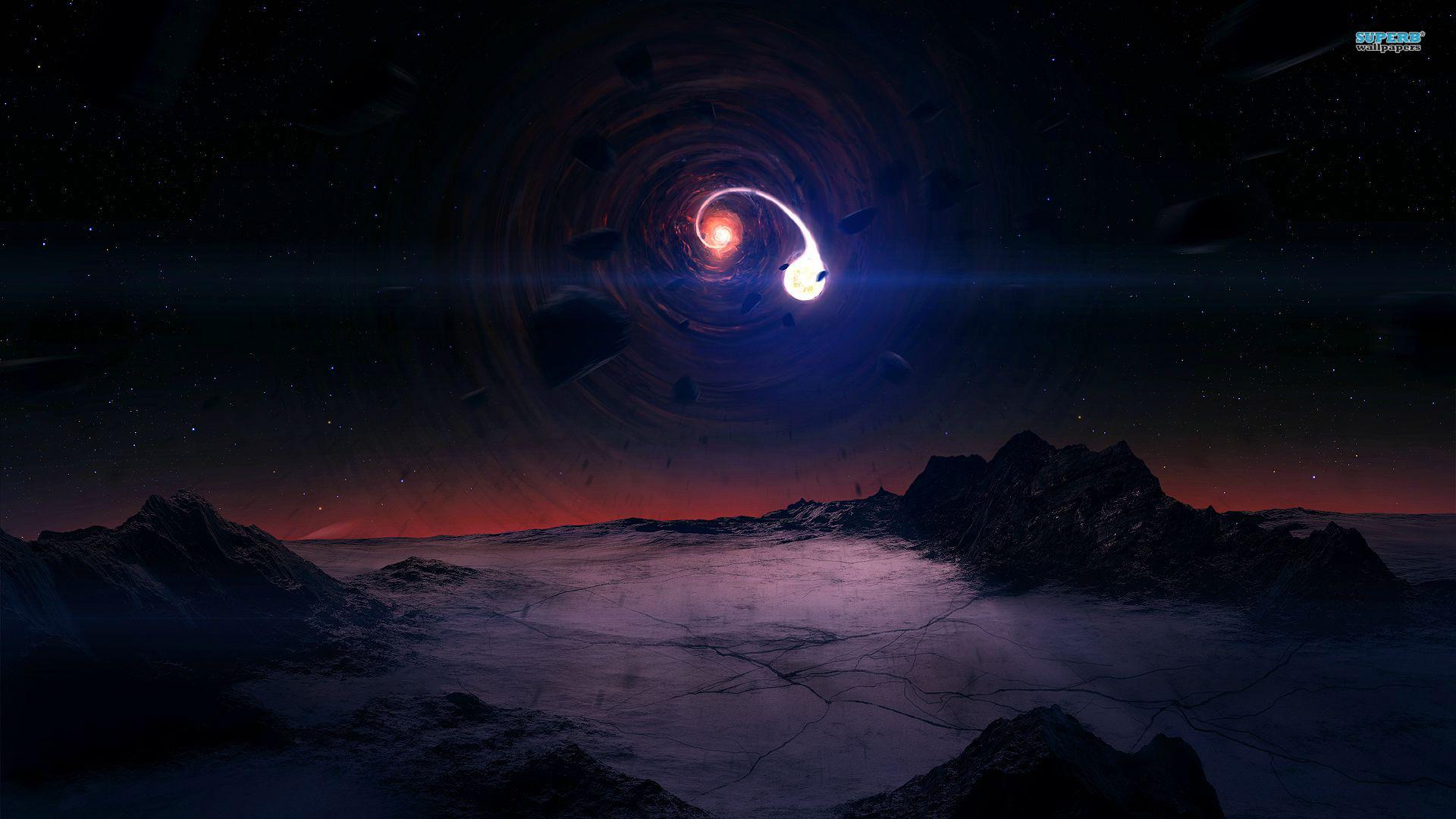 Black Hole Wallpaper HD - WallpaperSafari