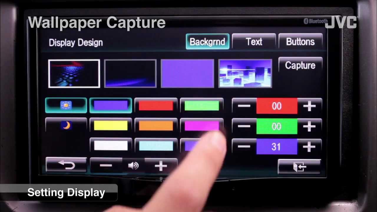 JVC Mobile Car Audio Receiver Wallpaper Capture 1280x720