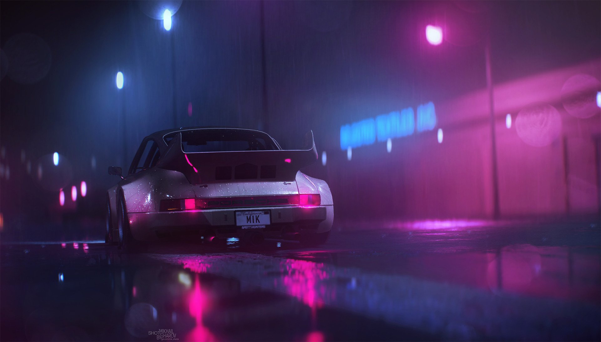 118 Retro Wave HD Wallpapers Background Images 1920x1095