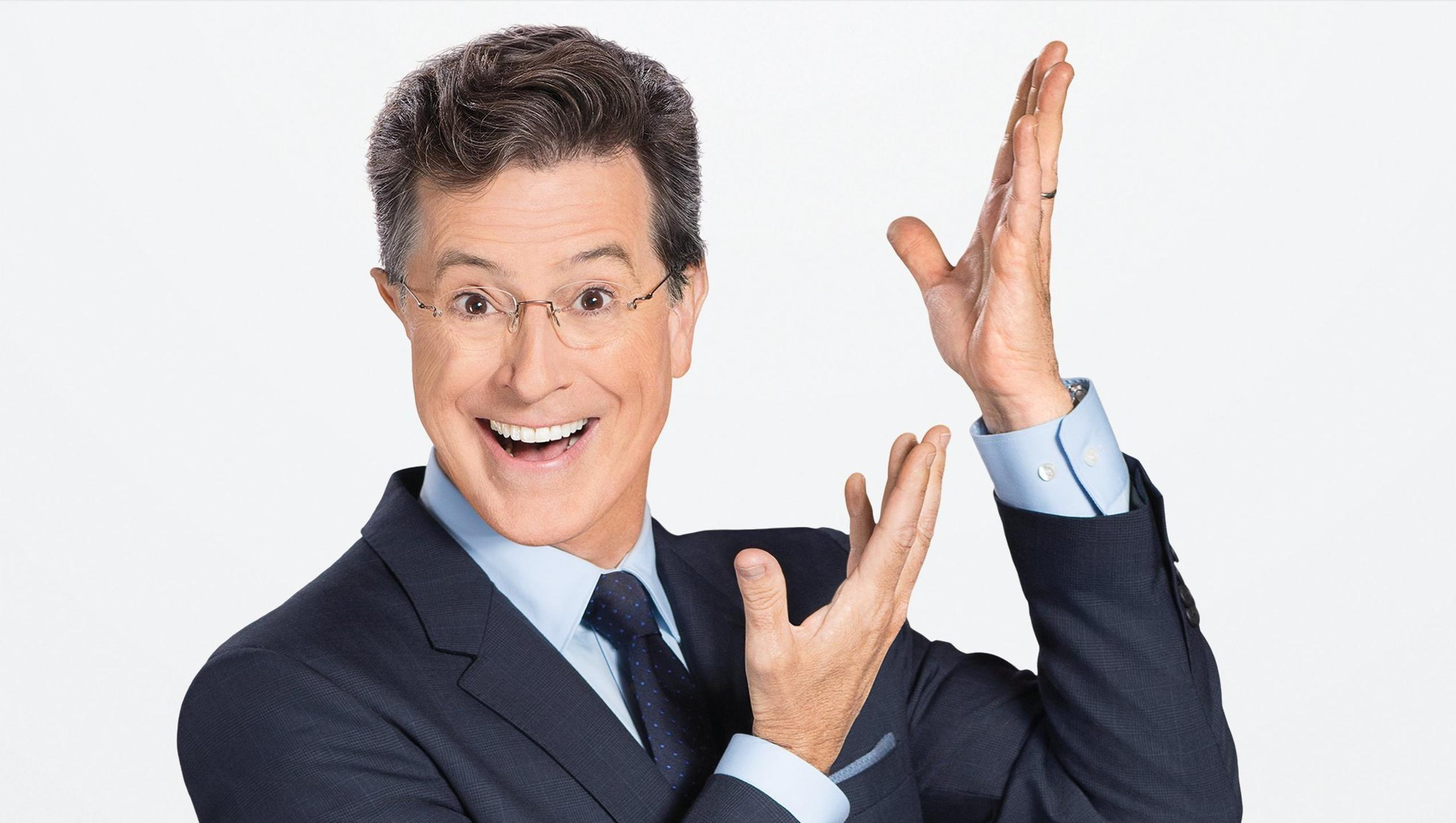 The Late Show with Stephen Colbert Desktop Wallpaper Moviemania 2552x1442