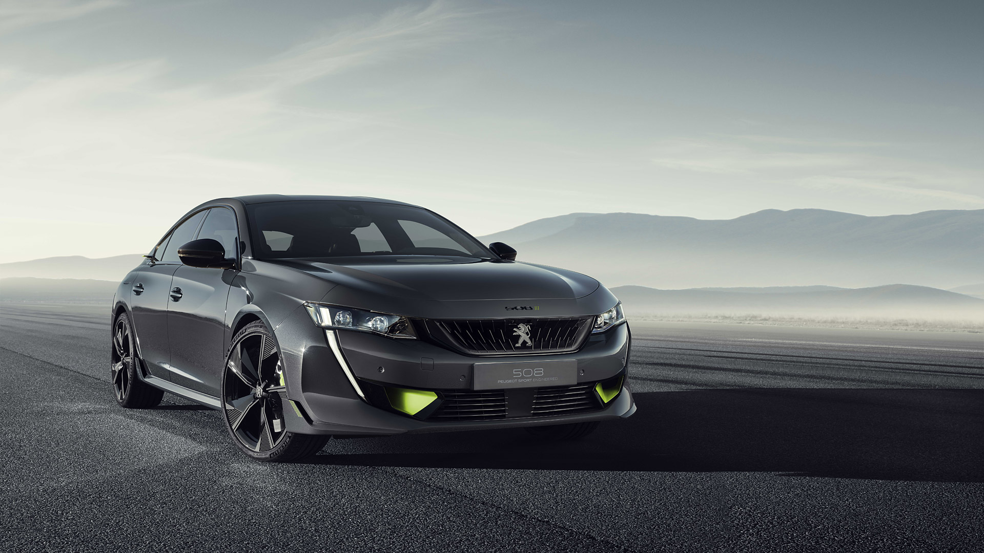 2019 Peugeot 508 Sport Engineered Concept Wallpapers HD Images 1920x1080