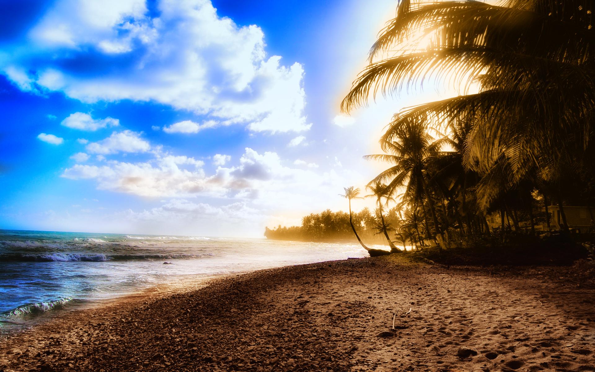 wallpapers screensavers summer sunbay 1920x1200