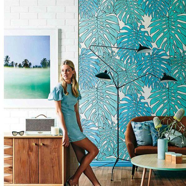 Trend Palm Leaf Wallpaper 600x600