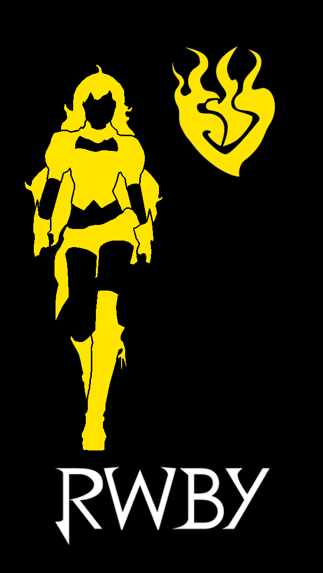 RWBY   Yang iPhone 5 Background by Areyoucrazee 640x1136