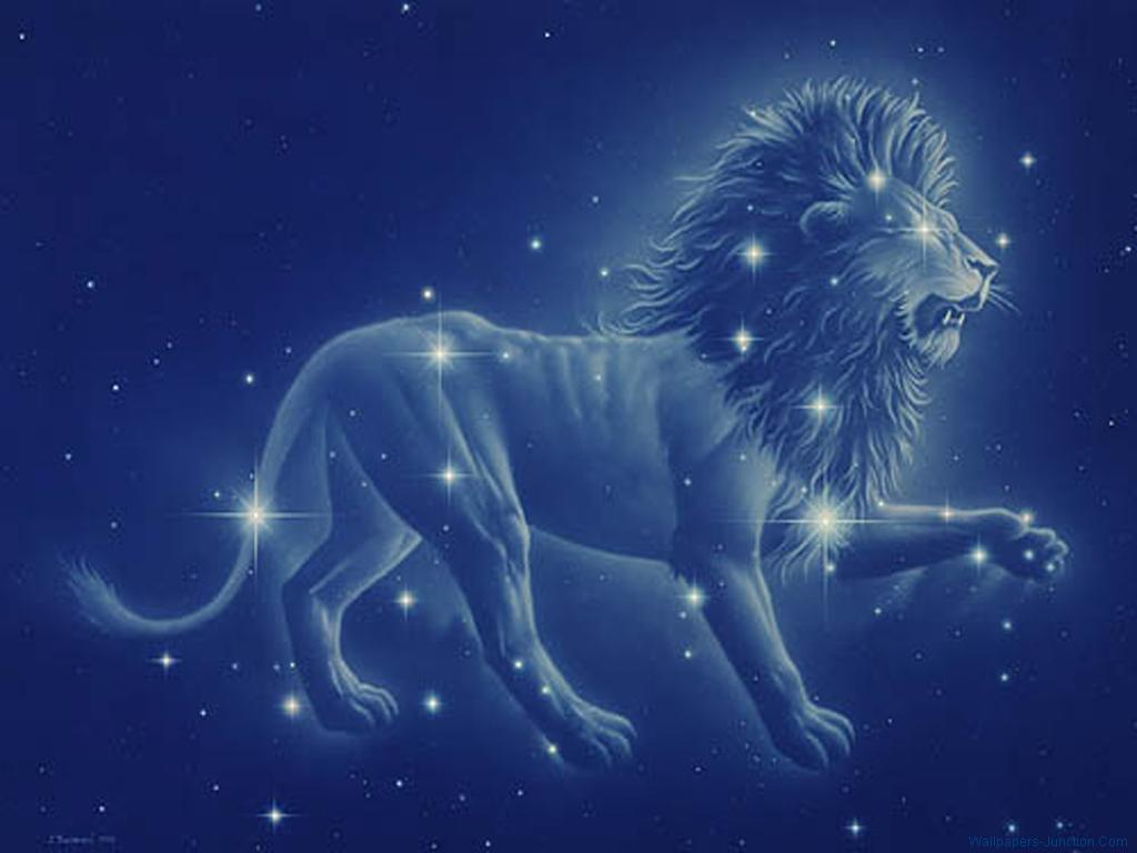 Zodiac Sign Leo Wallpapers 1024x768