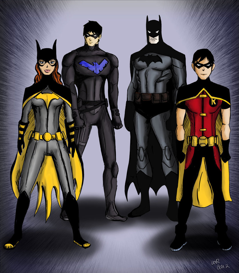 Young Justice   Batman proteges by Ayeri 836x956